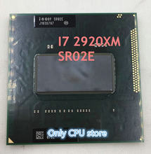 Официальная версия процессора intel, процессор I7-2920XM SR02E I7 2920XM SRO2E 2,5 г-3,5 г/8 м, 100% процессор чипов, бесплатная доставка