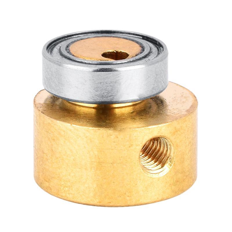 1pc máquina de tatuagem roda de bronze dourado prático mini peça substituição rolamento cam rotativo para tatuagem máquina fornecimento