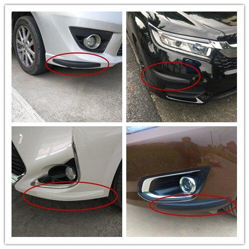 Barra de choque de goma para Toyota Allion Altezza Auris 1 2 Avalon 2 Aygo 1 2 HOJA DE Belta Celsior 3 accesorios