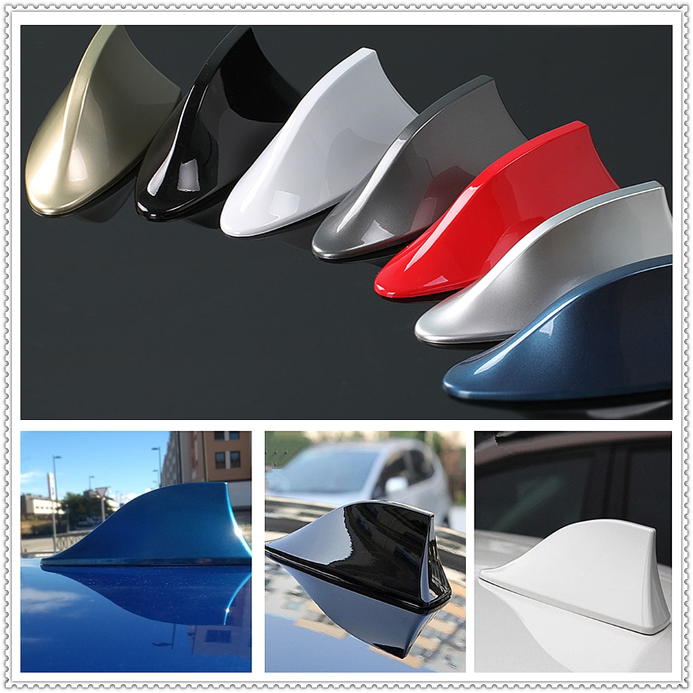 Antena tipo aleta de tiburón de coche señal de Radio automática antenas de techo aéreo para Infiniti QX50 Q QX80 Q50 prototipo QX30 Q60