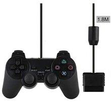 Mando de juegos con cable para Sony PS2, Mando para Mando PS2/PS2, Joystick para plastistation 2, control por cable