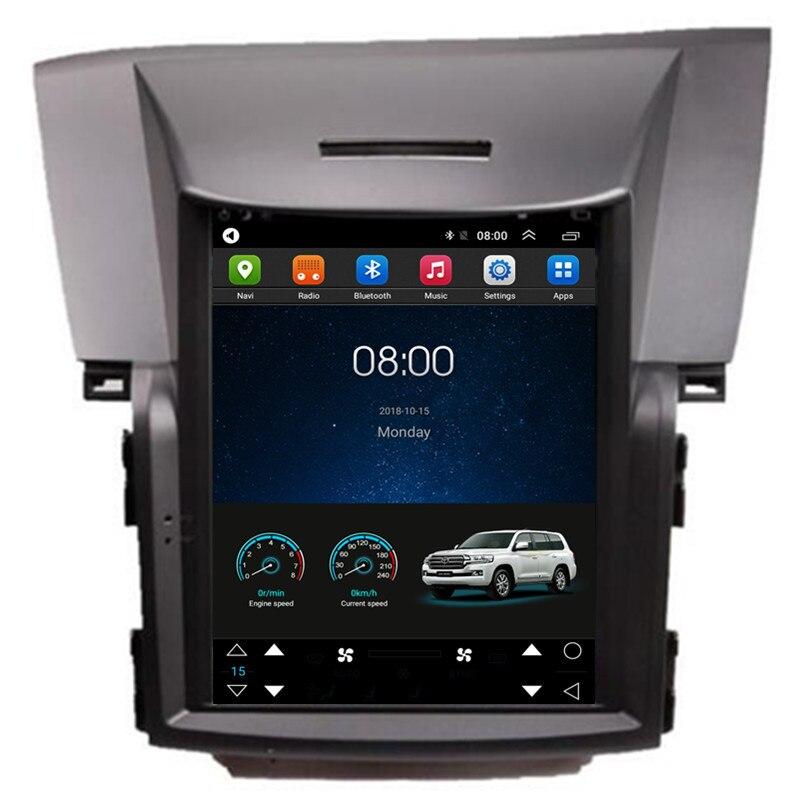 """10,4 """"Tesla Vertical pantalla Android auto-Radio Audio sentado unidad principal de navegación para Honda CRV CR-V CR V 2012, 2013, 2014, 2015, 2016"""