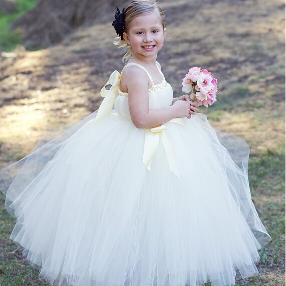 2018 new children s costumes sixty one high end custom flower girl dresses 2 14year gift children s performing princess dress New Flower Girl Dresses with Sashes Princess Communion Ball Party Pageant Dress for Wedding Little Girl Kids/Children Dress