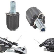MUQZI 10 pièces vtt vélo vélo dérailleur Regolatore changement de câble bouchon vis cyclisme M5 changement fin Micro réglage vis boulons
