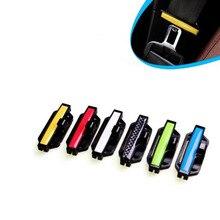 2 stücke Auto Sicherheit Gürtel Clips Sitz Gürtel Schnalle Auto Styling Anpassung Clip Spannung Teller Für Auto Zubehör