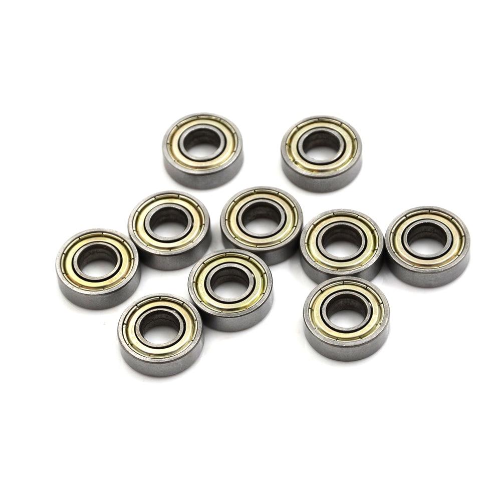 10 unids/lote F698-2RS carbono, rodamientos de acero 8x19x6mm miniatura 698RS rodamientos de bolas de alta calidad 698 Z ZZ