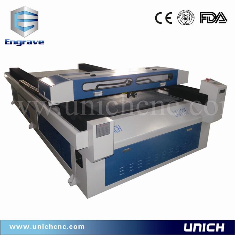 Máquina de corte por láser de varios cabezales de estilo caliente LXJ1325-2