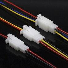 Connecteur de fil de voiture mâle/femelle   5 pièces à 2/3/4 broches, connecteur de bloc 2.8mm pour moto voiture
