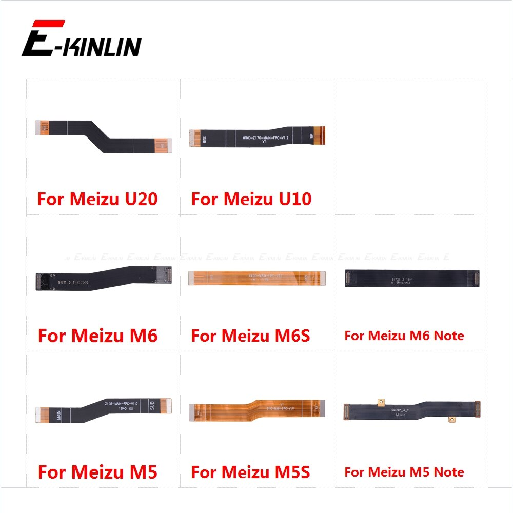 Материнская плата с гибким кабелем для Meizu U20 U10 M6S M6 M5S M5 Note