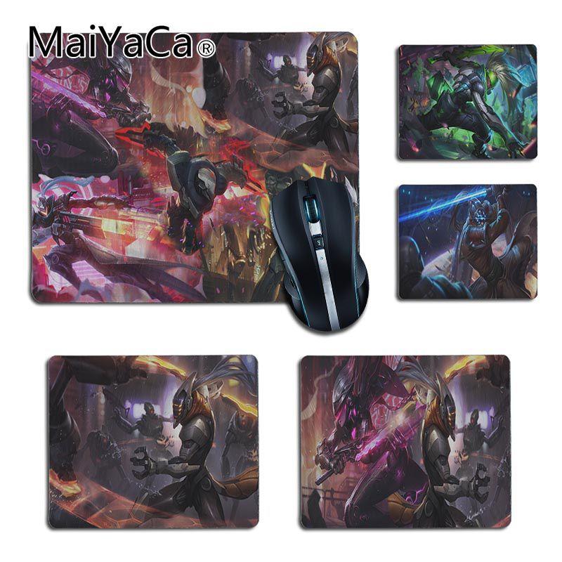 Alfombrilla de ratón personalizada MaiYaCa league of legends project yi, alfombrilla de ratón con diseño DIY para juegos, alfombrilla de ratón para PC, portátil y Notebook