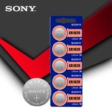 5 pc/lot Sony 100% Original CR1620 pile bouton pour montre voiture clé à distance cr 1620 ECR1620 GPCR1620 3v batterie au Lithium