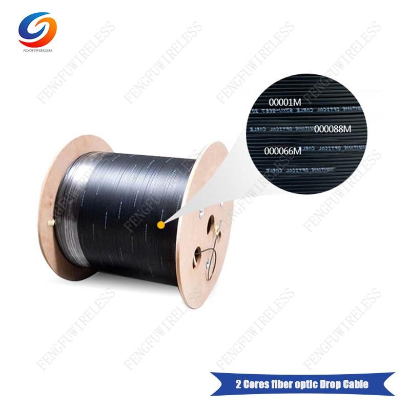 Envío gratis 3 rollos 1000m/rollo 2 núcleos cable de fibra al aire libre a Angola por DHL