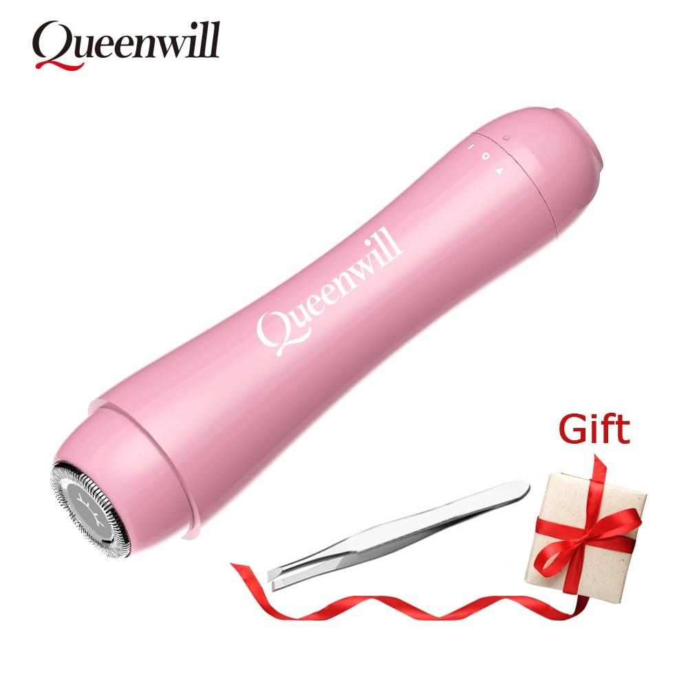 Épilateur électrique Portable femme mini épilateur électrique rasoir électrique pour le visage pince à sourcils épilation Portable indolore