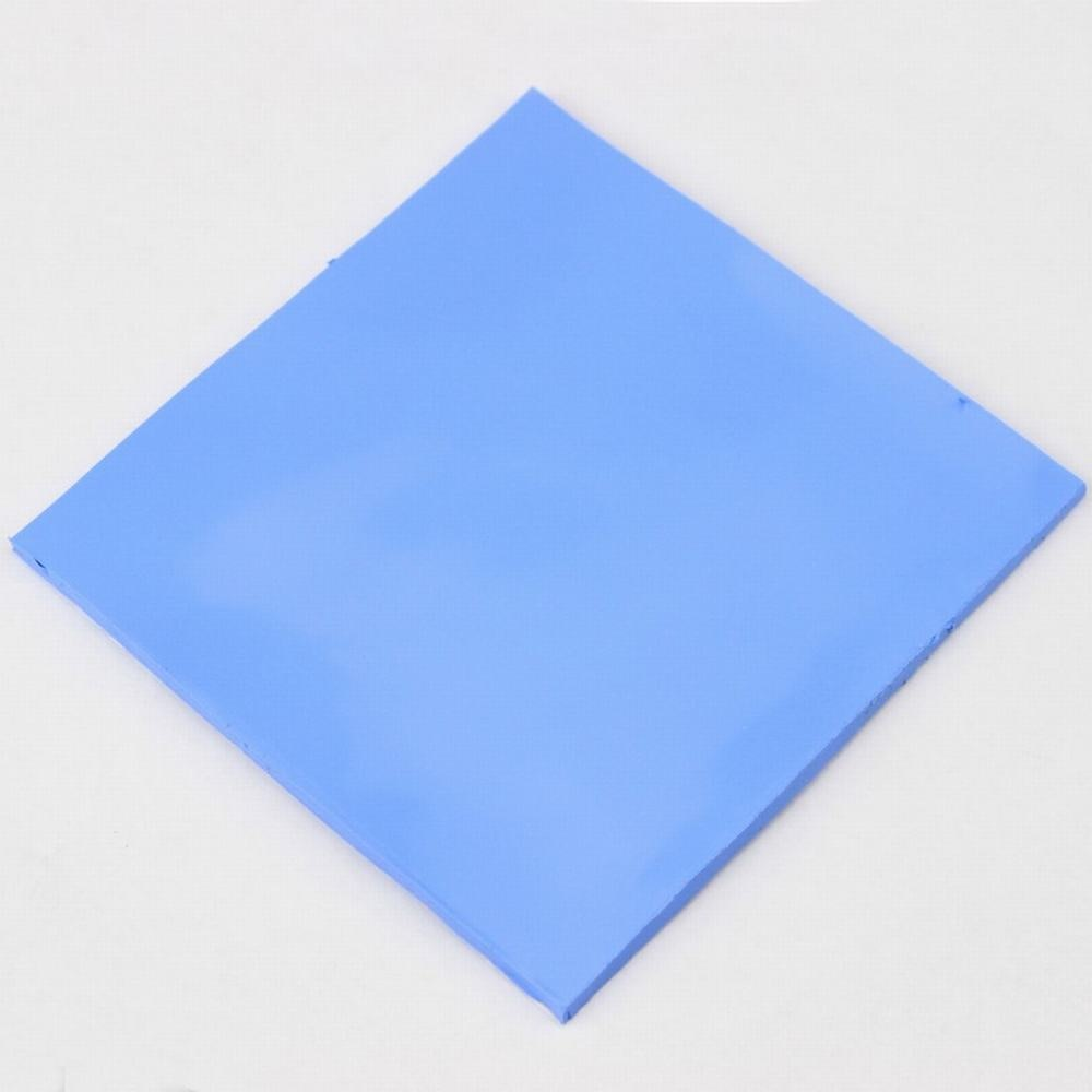 10 Pcs Gdstime 100mm x 5mm Blue White Thermal Pad GPU CPU Heatsink Cooling Conductive Silicone Pads 100x100x5mm 10 pcs to 220 silicone thermal heatsink insulator pads w insulating particles for lm78xx lm317 tdaxx