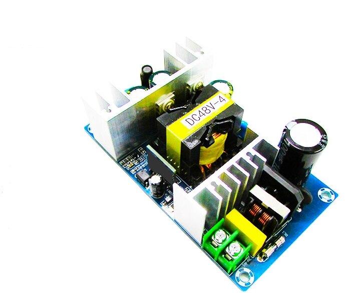 Convertidor de CA 110v 220v a DC 48V MAX 4A 200W voltaje regulado transformador interruptor fuente de alimentación
