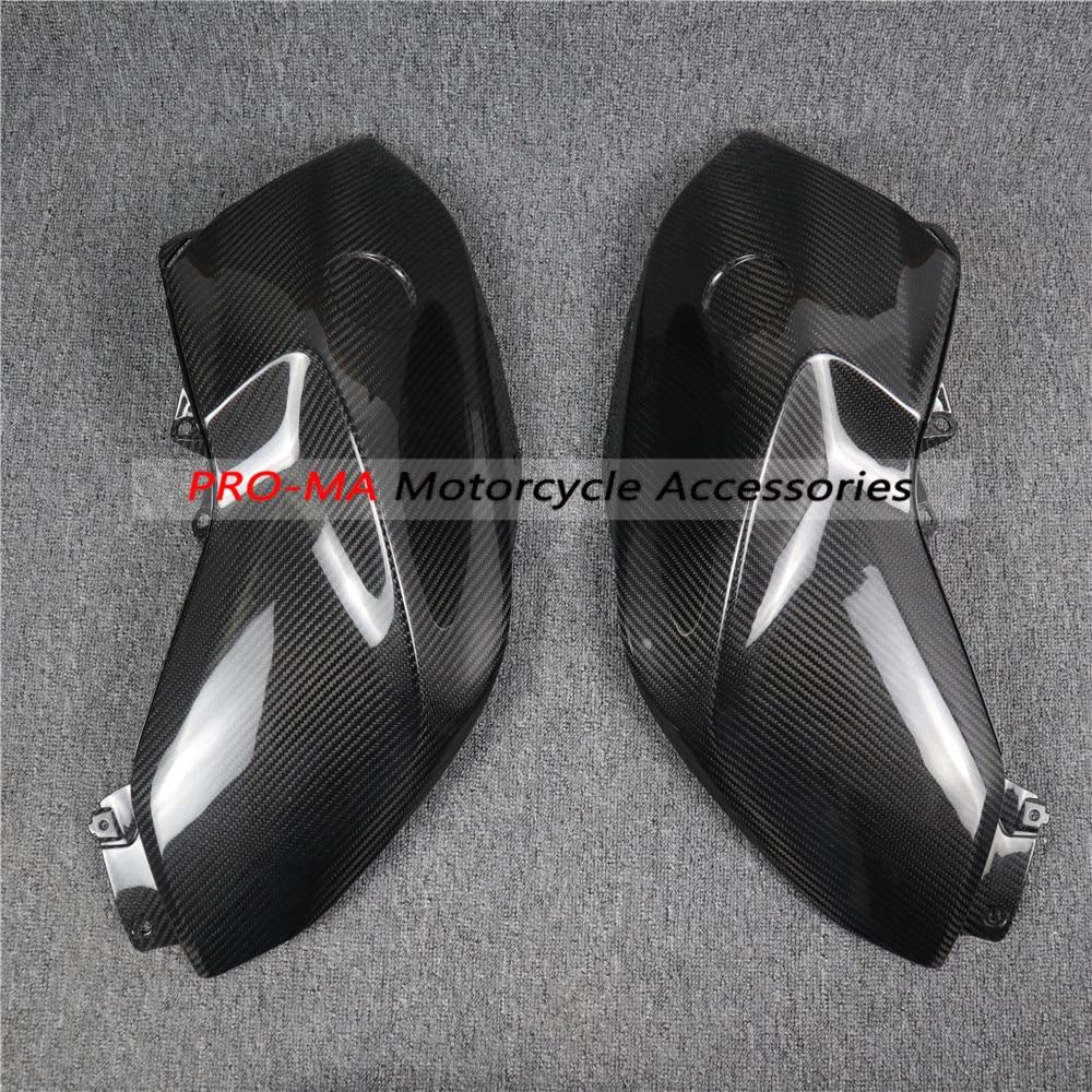 Paneles laterales de tanque de motocicleta en fibra de carbono para BMW Serie R R1200R 2015-2018 sarga
