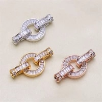 wholesale diy natural stones beads jewelry making accessories silvergoldrose gold metal connector clasps findings