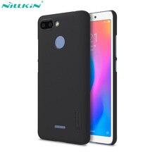 Nillkin Super givré bouclier étui pour Xiaomi Redmi 6 étui 6A 6 Pro A2 Lite couverture PC dur dos mat couverture pour Redmi Note 6 Pro