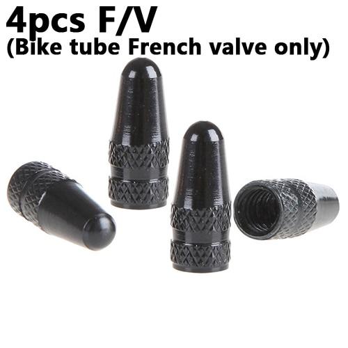4Pcs אלומיניום סגסוגת כביש MTB מרוצי מסלול אופני צינור צמיג אופני צמיג גלגל צרפתית FV שסתום כובע Presta אוויר שסתום Caps 6 צבעים