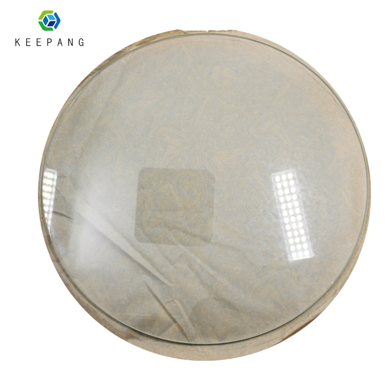 220 мм * 3 мм 200 мм * 3 мм стеклянная пластина для 3D-принтера стеклянная пластина круглая боросиликатная стеклянная закаленная кровать с подогревом 3D части принтера