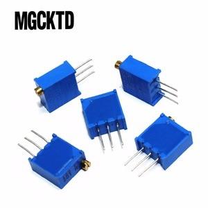 100pcs/lot 3296W-1-103LF 3296W 10K Trimpot Trimmer Potentiometer