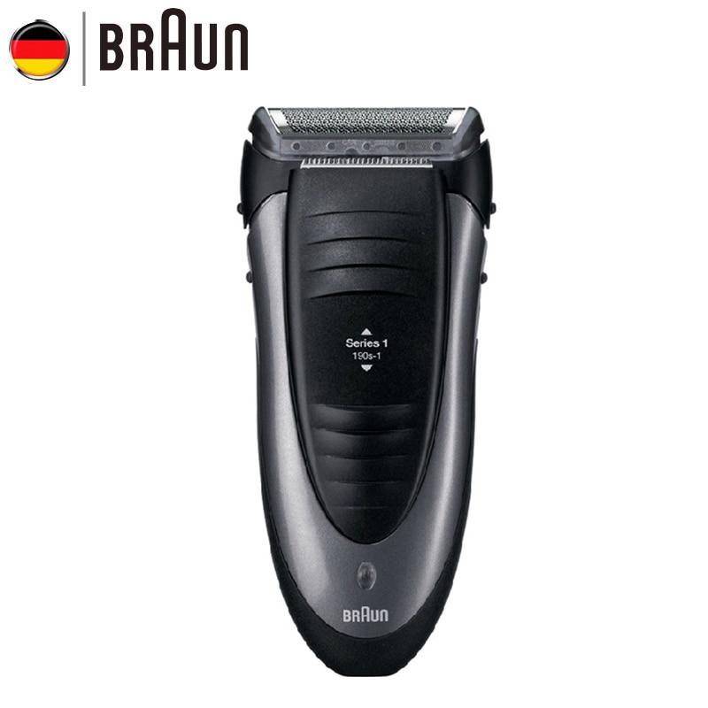 Braun Electric Razor 190S Floating Foil Men Razor Waterprrof Washing Electric Shaver Shaving machine
