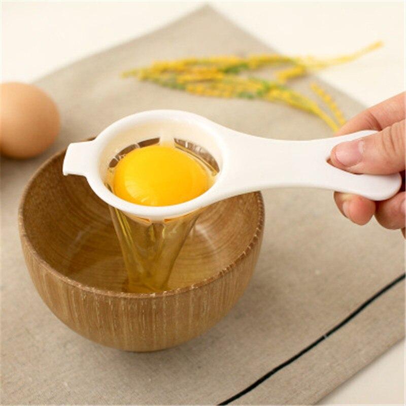 Séparateur automatique des œufs blanc œuf   gadget de cuisine créatif filtre automatique, points dœufs de cuisson à la maison, filtre de protéines dœufs