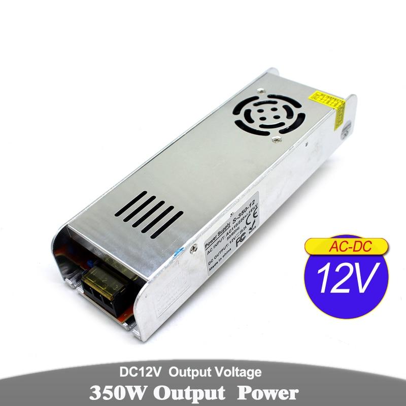 Variable transformadores para iluminación de DC12V 48 W 60 W 72 W 100 W 120 W 150 W 180 W 240 W 250 W 300 W 350 W 360 W 12 V fuente de alimentación de CC para la luz LED