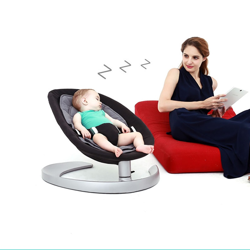 Super Load Bearing 60kg Baby Rocking Chair Without Electricity Radiation Baby Rocking Chair Baby Cradle Appease Newborn Baby
