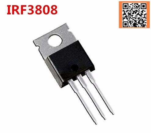 1 PCS IRF3808 IRF3808PBF TO-220 TO220 novo transistor MOS FET boa qualidade