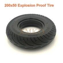 Neumático a prueba de explosiones 200x50, Scooter eléctrico sólido, neumático sin cámara para Speedway Mini 3/4 Pro, rueda delantera, neumático sólido sin inflado