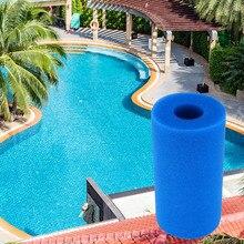 Filtro de espuma Intex tipo A piscina reutilizable esponja lavable filtros de Biofoam cartucho de espuma de Agua Limpia accesorios de piscina herramienta