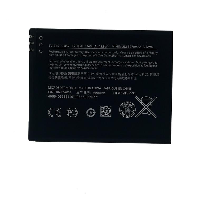 3340mAh BV-T4D bateria do Miscrosoft Lumia 950 XL CityMan Lumia 940 XL RM-1118 telefon komórkowy wysokiej jakości bateria + kod śledzenia