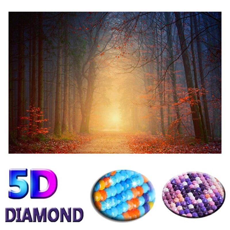 DIY 5D diamante pintura sol paisaje loros resina taladro bordado Cruz puntada mosaico decoración de diamantes de imitación pintura decoración de la pared