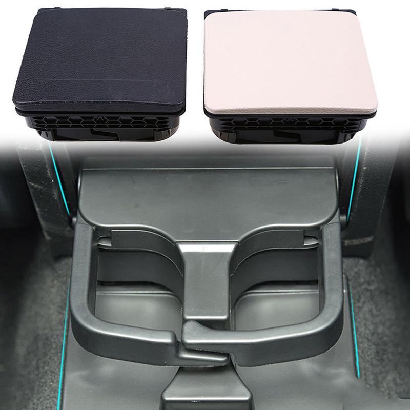 Car Black Central Console Armrest Rear Cup Holder For VW Jetta MK5 MK6 1K0 862 532 F 9B9,1K0862532,1K0862532F 9B9 Auto Holder
