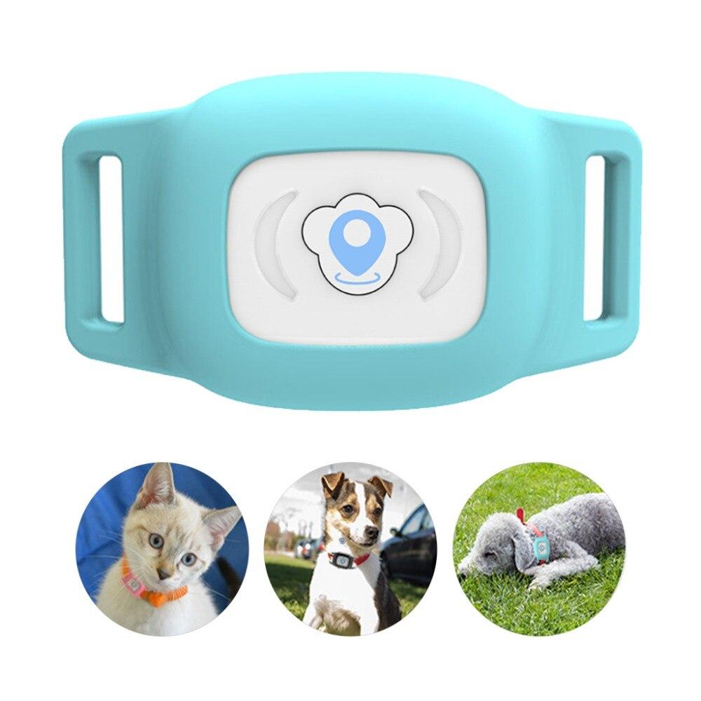Rastreador localizador de posición en tiempo Real GPS para niños y perros Blue Cat Dog LBS Rastreador de coche SMS alarma de geocerca dispositivo de seguimiento histórico