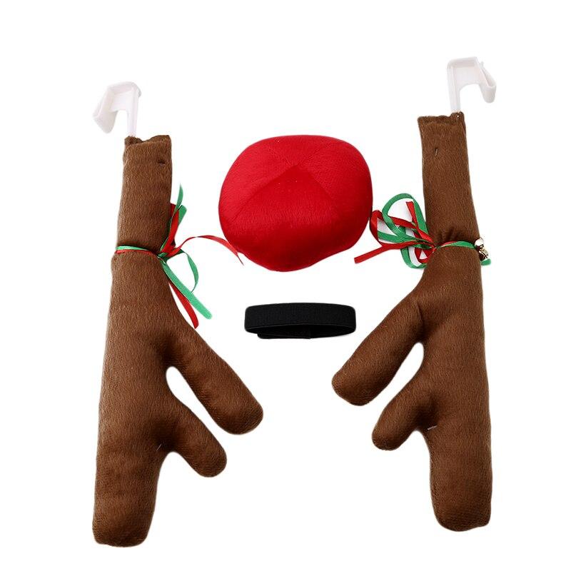 Jouet en forme de renne pour la maison   Décoration de noël pour fête de noël, décor de voiture humoristique pour fête de noël
