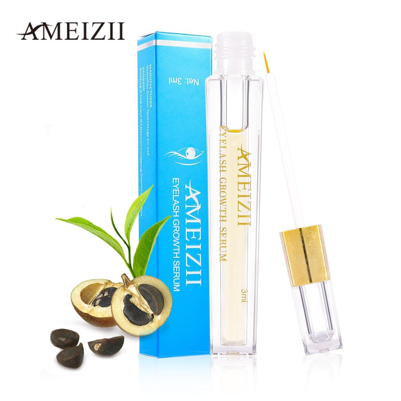 Ameizii cílios crescimento soro natural curling lash lift wimper soro pestana realçador tratamento olhos cílios levantamento de óleo essencial