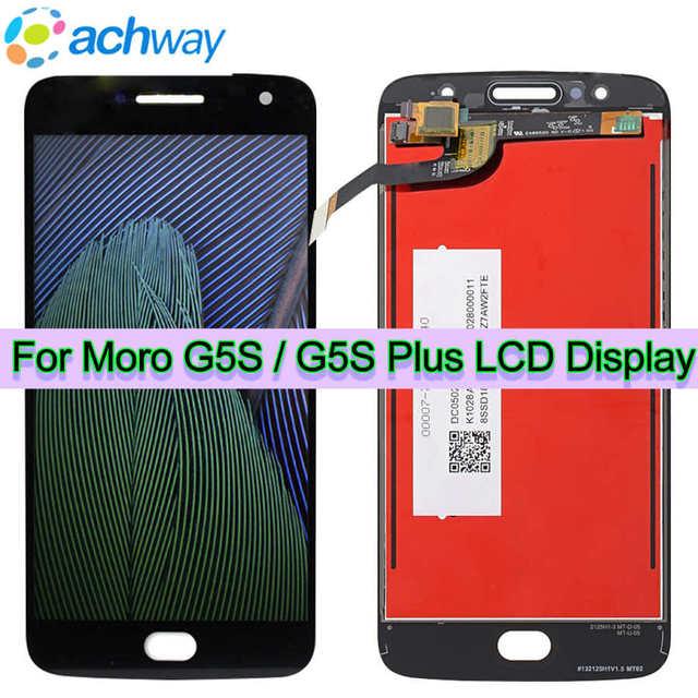 """Оригинальный ЖК дисплей для Motorola Moto G5S PLUS ЖК дисплей G5S XT1792 ЖК сенсорный экран дигитайзер 5,2 """"для Motorola Moto G5S ЖК дисплей"""