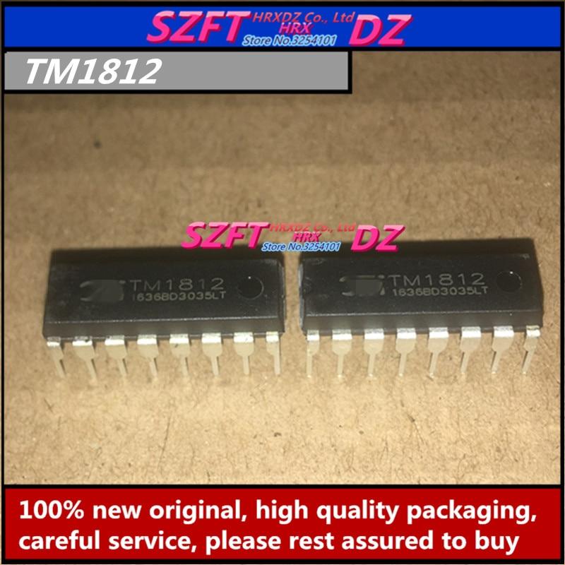 SZFTHRXDZ-SZFTHRXDZ TM1812 TM1616 TM1650   10 pièces originales TM1651 TM1809 TM1827 DIP, nouveau 100%