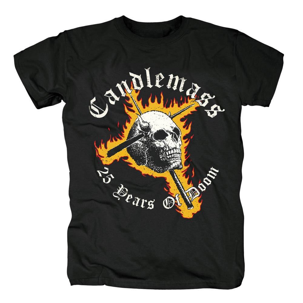 Bloodhoof Candlemass negro doom metal heavy metal camiseta tamaño asiático