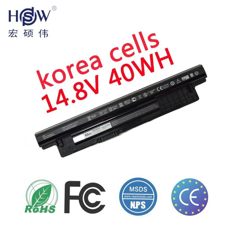 HSW batería del ordenador portátil para DELL INSPIRON 17R 5721 17 3721 15R 5521 15 3521 14R 5421 14 3421 VOSTRO de la batería para portátil de 2521 de 2421