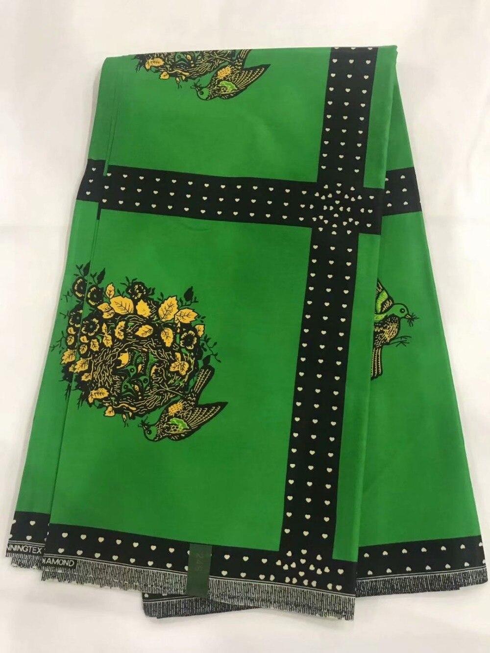Diseño único kente java cera fabrics 6 yardas hermosos patrones 100% algodón ankara bloque africano cera tela de impresión para vestido ¡! OT-4133
