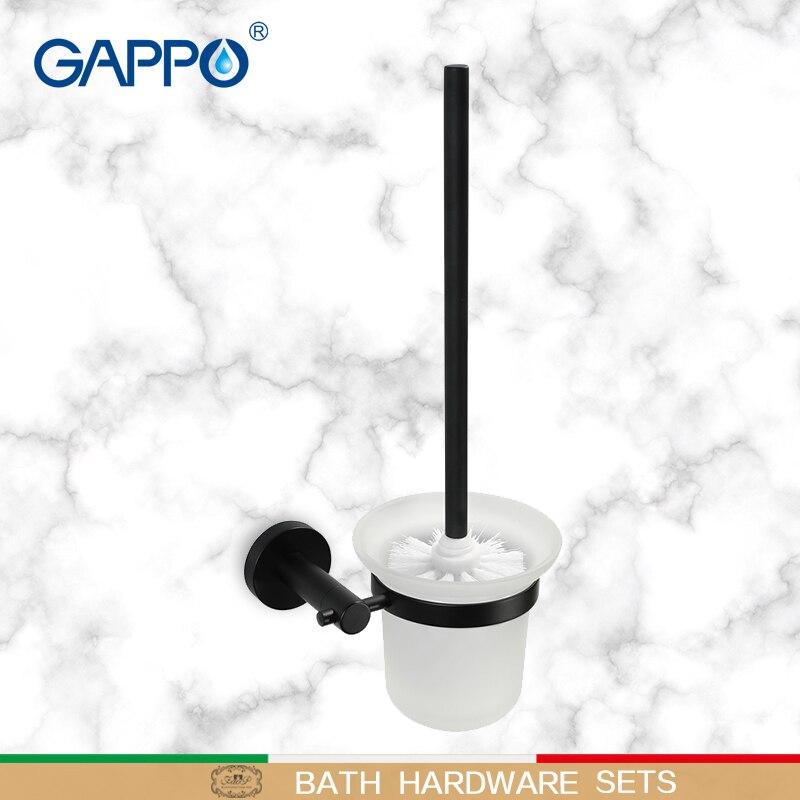 Gappo أصحاب فرشاة المرحاض الحمام فرشاة المرحاض فرشاة المرحاض جدار الخيالة حمام مجموعات الأجهزة