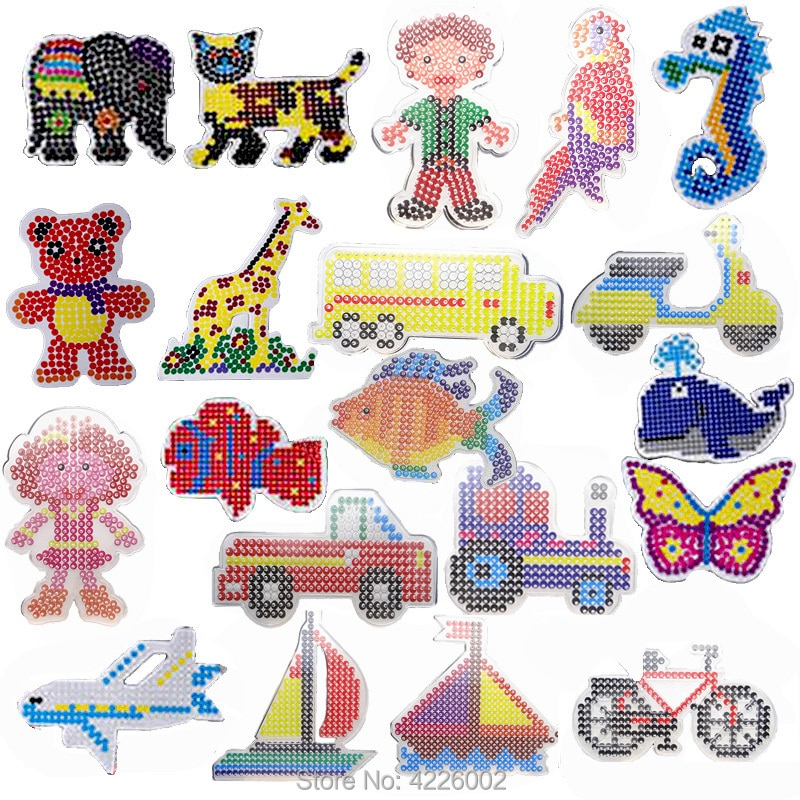 20 cool patterns for fuse beads (without beads)