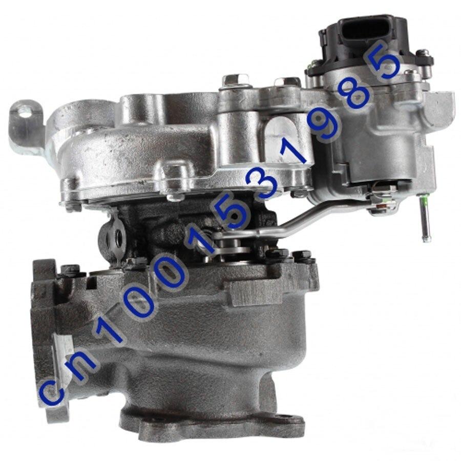 VB23 de Turbo doble RHV4 17208-51010/17208-51011/VED20027 Turbo para 2008-12 t-oyota con 1VD-FTV VDJ76/78/79 motor 4.0L 261hp
