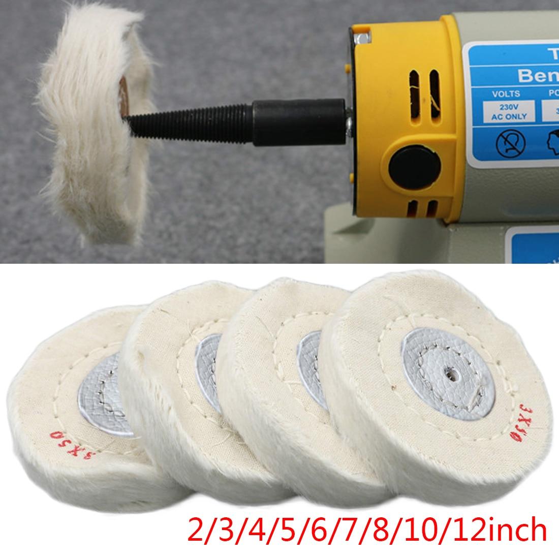 2-12 inch wielen polijsten polijstwiel katoen lint doek polijsten - Schurende gereedschappen - Foto 2