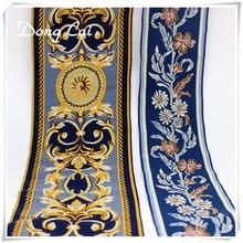 Sacs en toile jacquard ethnique boho   5yards/lot, rubans brodés indiens, sacs tribal, tissu ethnique, dentelle boho