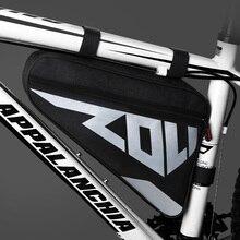 Cadre de vélo avant Tube sac grand vélo Triangle sac étanche vélo sac sacoche Ebike sac à outils accessoires
