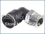 PL 1/4-N01 tubo 1/4-1/8 NPT rosca neumática macho rosca un toque codo accesorios rápidos